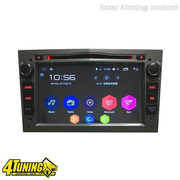 Navigatie Android OPEL Astra H Vectra C CORSA NAVD i019