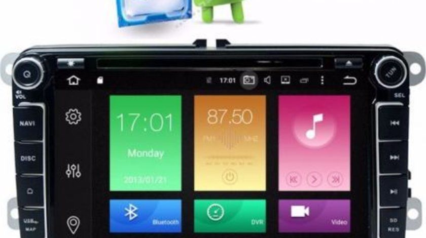 Navigatie Android Quad-Core VW PASSAT B6 PASSAT CC Carkit Usb Internet NAVD-P9240