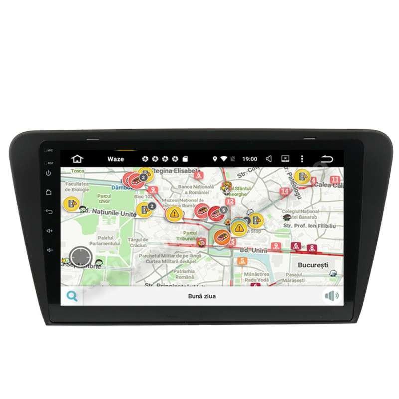 Navigatie Android SKODA OCTAVIA 3 2013+ Carpad Ecran 10.1 inch 2GB Ram NAVD-MT5520