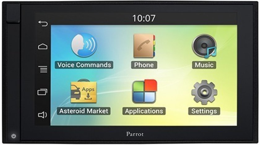 NAVIGATIE ANDROID UNIVERSALA PARROT ASTEROID SMART MULTIMEDIA PLAYER 2 DIN INTERNET ECRAN CAPACITIV