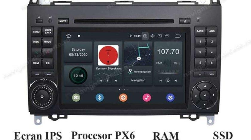 Navigatie Android VW CRAFTER Mercedes Benz Sprinter CLASA A B Vito Viano 4GB RAM NAVD-P068