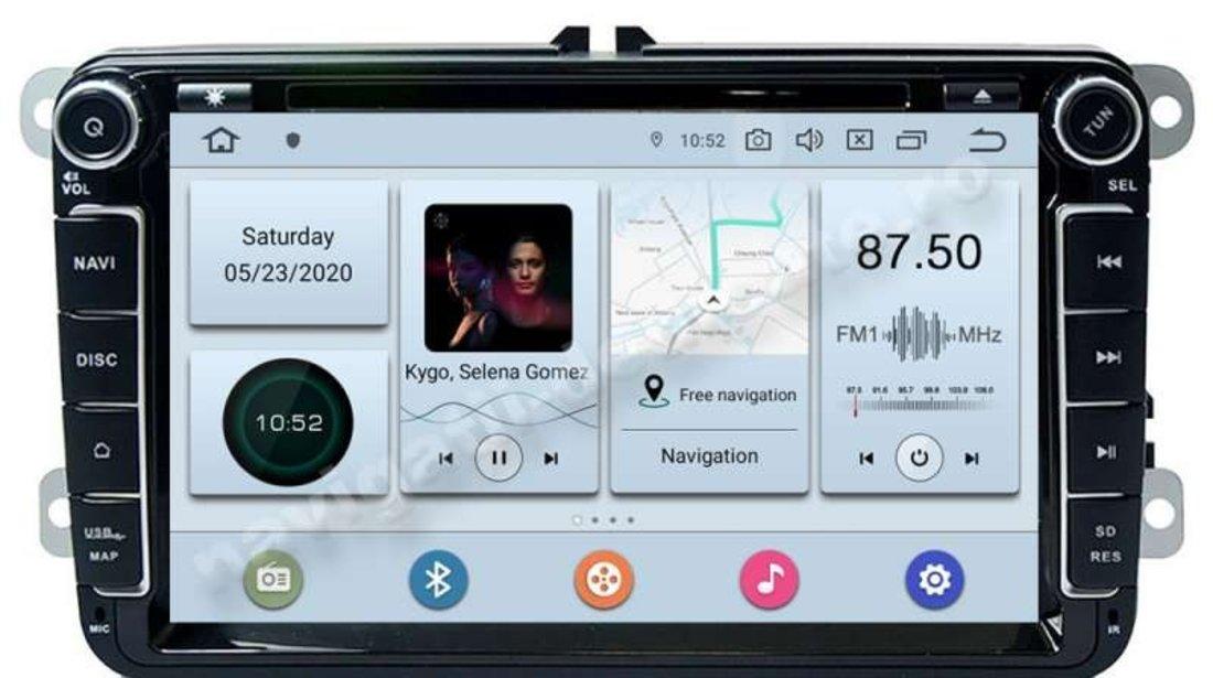 Navigatie Android VW Golf 5 6 Passat B6 B7 CC Jetta Tiguan Touran Amarok Caddy Eos Polo NAVD-P9240