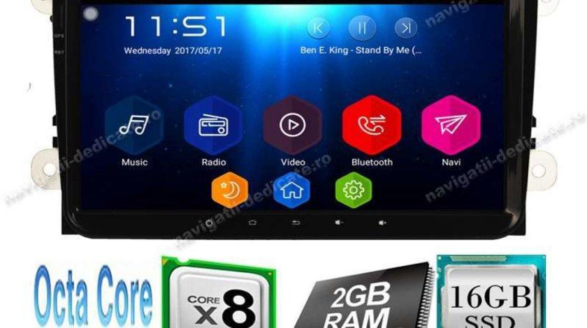 Navigatie Android Vw Passat B6 B7 CC Golf 5 6 Jetta Tiguan Touran Polo Amarok NAVD-T9800