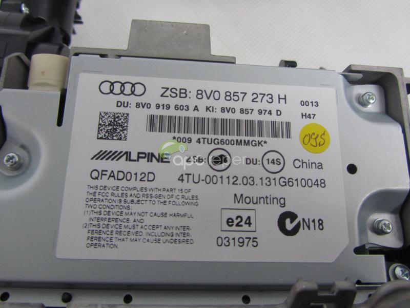 Navigatie Audi A3 8V S3 Originala 8V0035874A MMI