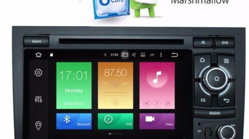 Navigatie AUDI A4 B6 Android 6.0 Octa Core Internet NAVD-P050