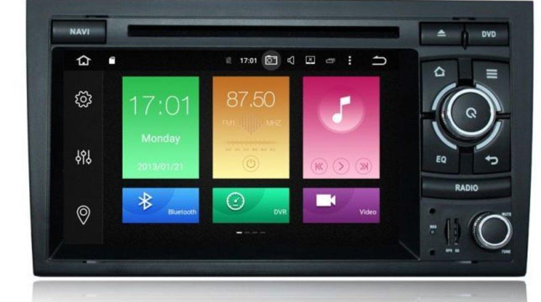Navigatie Audi A4 B7 B6 Android QUAD CORE INTERNET WIFI CARKIT USB NAVD-P050