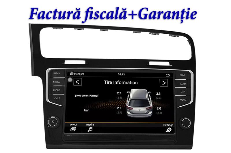 "Navigatie Audiosources MiB4 VW SKODA MQB ,ecran 9"",meniuri 100% OEM Discover pro2, slot SIM 4G"