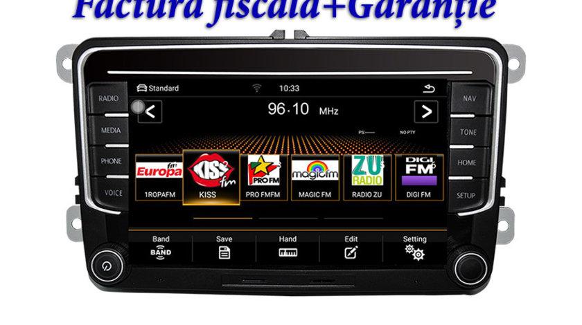 Navigatie  Audiosources MiB866 VW SKODA SEAT, meniuri 100% OEM, slot SIM 4G, Android
