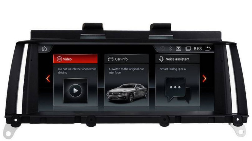 NAVIGATIE AUTO CU ANDROID BLUETOOTH GPS USB DEDICATA BMW X3 F25 X4 F26 EDOTEC EDT-F25-NBT