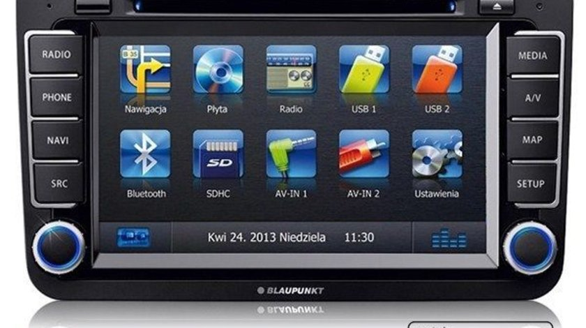 NAVIGATIE BLAUPUNKT PHILADELPHIA 835 DEDICATA VOLKSWAGEN SKODA SEAT DVD GPS CARKIT PRELUARE AGENDA