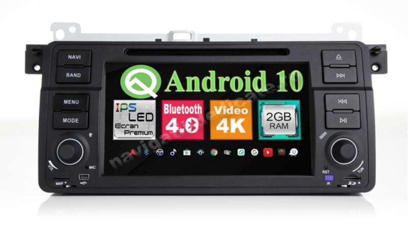 Navigatie BMW E46 Rover 75 Android Dvd Auto Gps Carkit NAVD-MT052