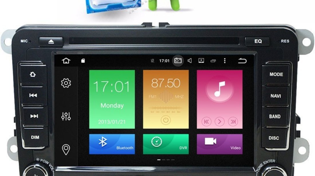 navigatie caddy vw android 6 0 2gb ram navd p7500 1659045