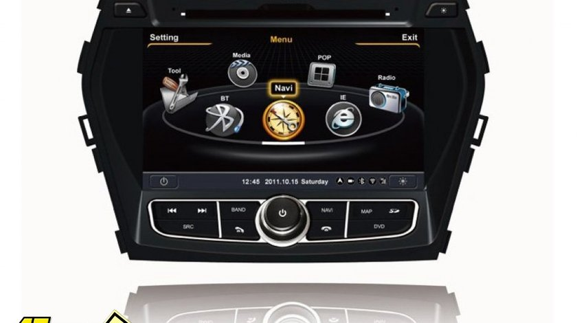 Navigatie Car Pc WITSON W2 C209 Dedicata Hyundai Santa Fe 2013 Ix 45 Internet 3g Procesor Dual Core A8 1gmhz Dvr Hard Intern Preluare Agenda Telefonica Model Premium 2013