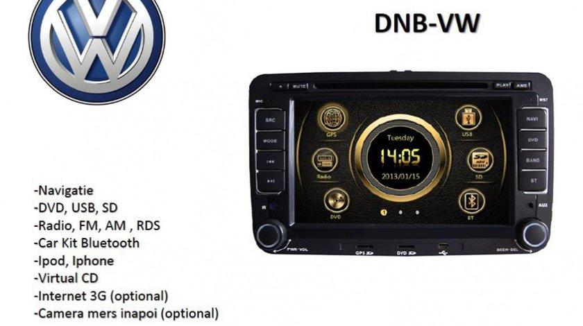 Navigatie Car Vision Dnb Vw Dedicata Vw Skoda Seat Dvd Gps Carkit USB