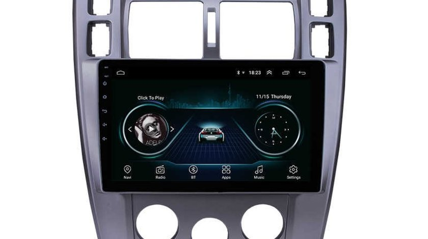 "NAVIGATIE CARPAD 10"" ANDROID 8.1 DEDICATA HYUNDAI TUCSON  2006-2013 16GB INTERNET 4G WIFI GPS WAZE"