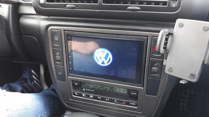 NAVIGATIE CARPAD 2DIN VW PASSAT B5 CU ANDROID 8.1 ECRAN 7'' CAPACITIV USB INTERNET 3G WAZE DVR GPS