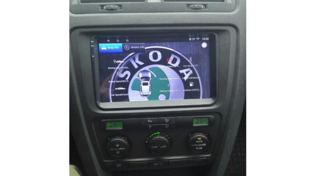 NAVIGATIE CARPAD ANDROID 7.1.2 DEDICATA VW TOURAN  NAVD E305 ECRAN 9'' CAPACITIV 16GB INTERNET