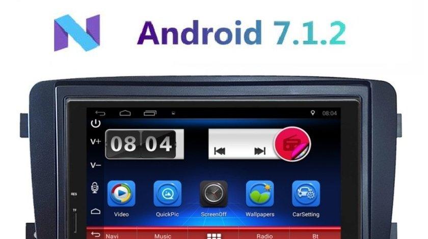 NAVIGATIE CARPAD ANDROID 7.1 DEDICATA MERCEDES CLASA C CLK VITO VIANO NAVD-E902MB DVR CARKIT GPS 3G