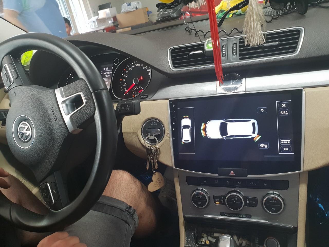 NAVIGATIE CARPAD ANDROID 7.1 DEDICATA VW PASSAT B6 TABLETA 10.1'' INTERNET 4G WIFI DVR GPS WAZE