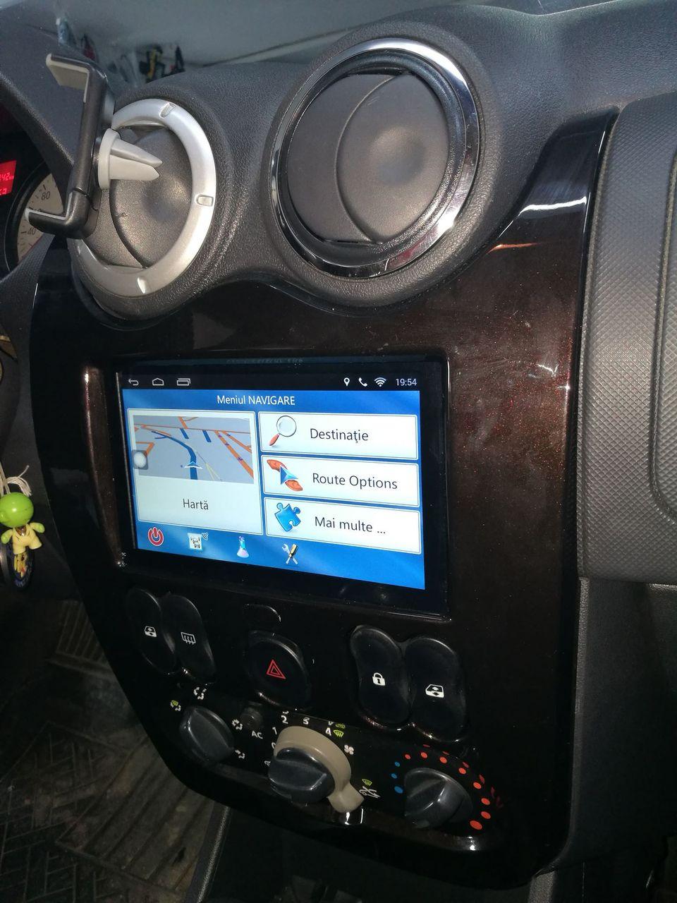 NAVIGATIE CARPAD ANDROID 7.1 DEDICATA  VW SHARAN GPS AUTO CARKIT USB WAZE NAVD-E902N