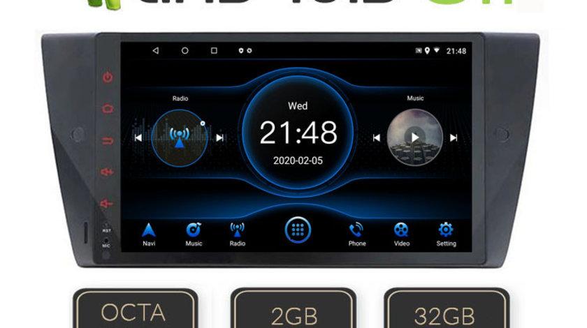 """NAVIGATIE CARPAD ANDROID 8.1 BMW SERIA 3 E90, E91, E92, E93 ECRAN 10"""" CAPACITIV INTERNET 3G WIFI"""