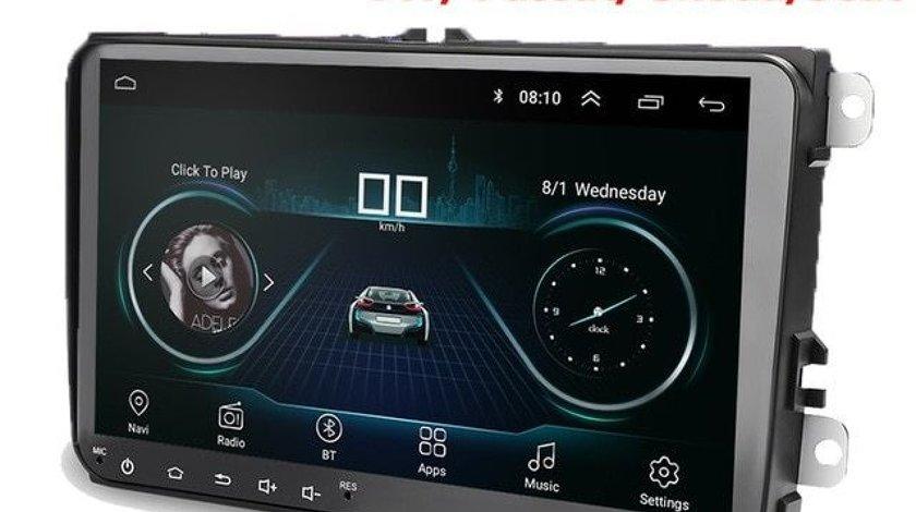 NAVIGATIE CARPAD ANDROID 8.1 DEDICATA VW PASSAT B6 ECRAN 9'' 16GB WIFI DVR GPS VAG NAV 5000 PRO
