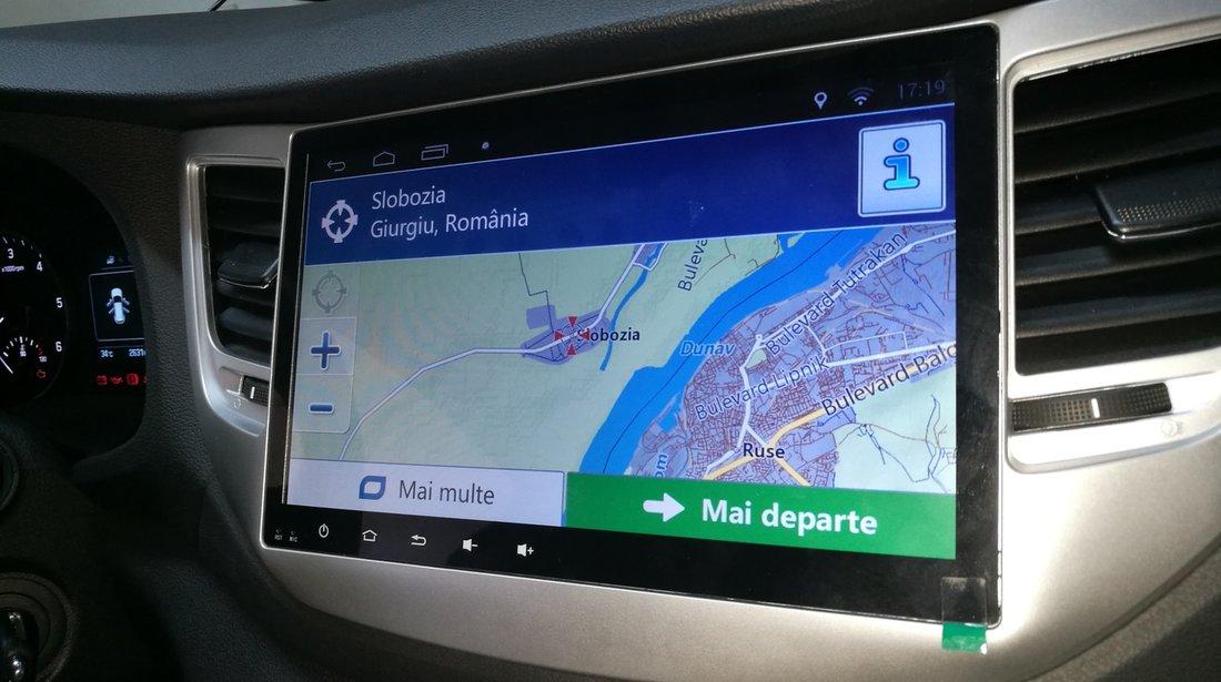 NAVIGATIE CARPAD ANDROID DEDICATA HYUNDAI TUCSON 2016 - 2017 ECRAN 10.1'' CAPACITIV INTERNET 3G WIFI