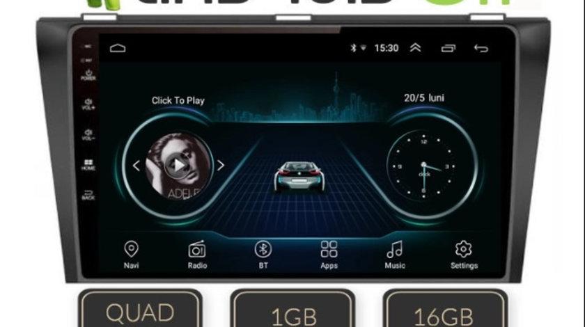 "NAVIGATIE CARPAD ANDROID DEDICATA MAZDA 3 ECRAN 9"" CAPACITIV 16GB INTERNET 3G WIFI PROCESOR CORTEX A9"