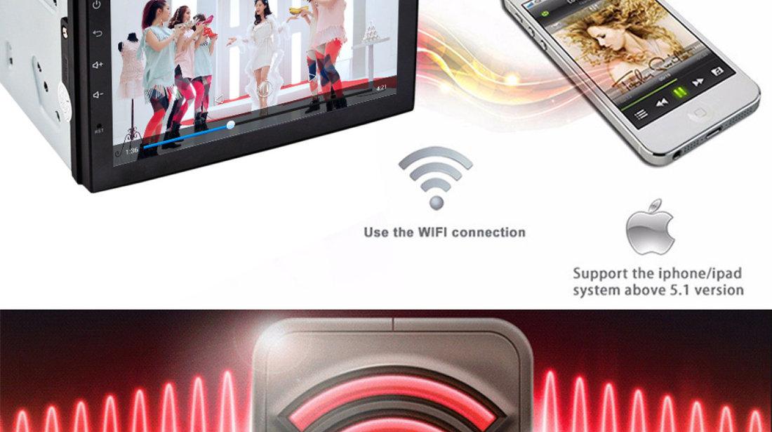 NAVIGATIE CARPAD ANDROID DEDICATA MERCEDES A CLASS ECRAN 7'' USB INTERNET 3G GPS WAZE COMENZI VOLAN