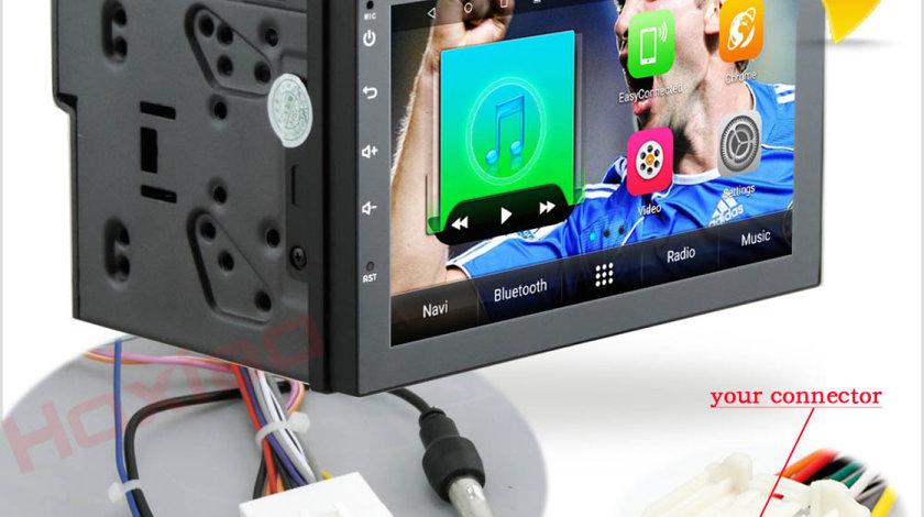 NAVIGATIE CARPAD ANDROID DEDICATA NISSAN NAVARA ECRAN 7'' USB INTERNET 3G GPS WAZE COMENZI VOLAN