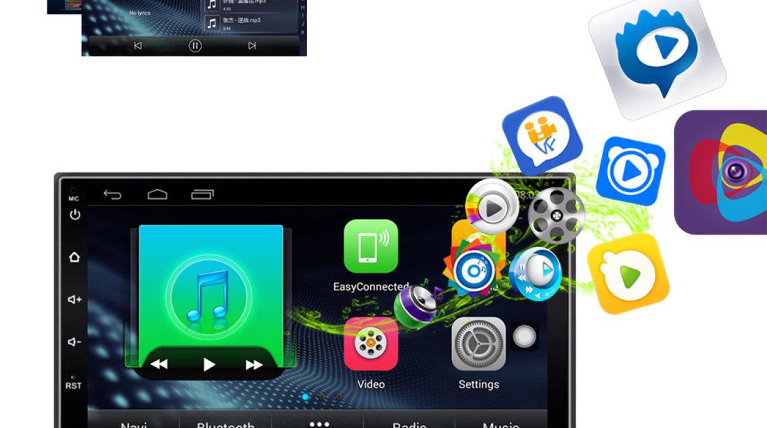 NAVIGATIE CARPAD ANDROID DEDICATA RENAULT LAGUNA ECRAN 7'' USB INTERNET 3G GPS WAZE COMENZI VOLAN