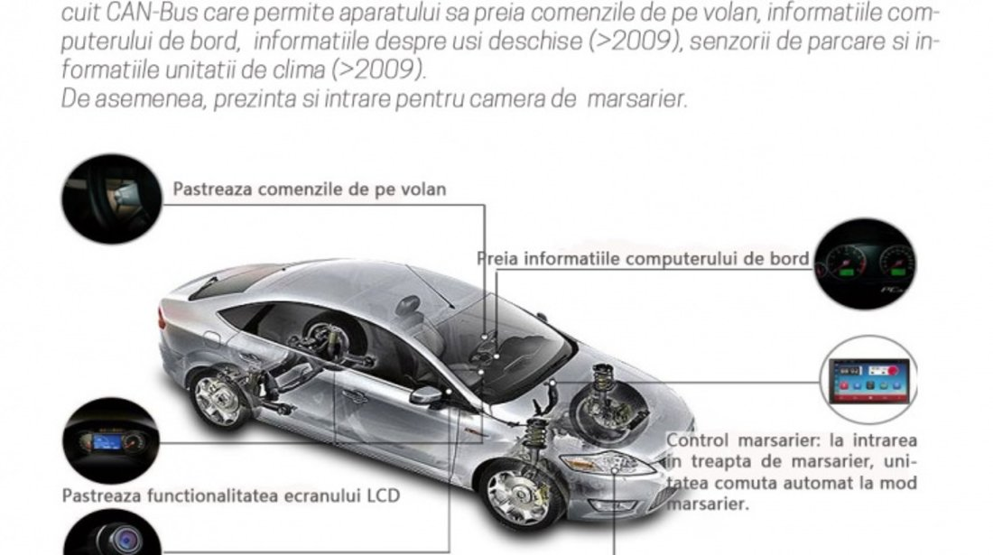NAVIGATIE CARPAD ANDROID DEDICATA VW Amarok EDONAV E305 ECRAN 9'' CAPACITIV 16GB INTERNET 3G