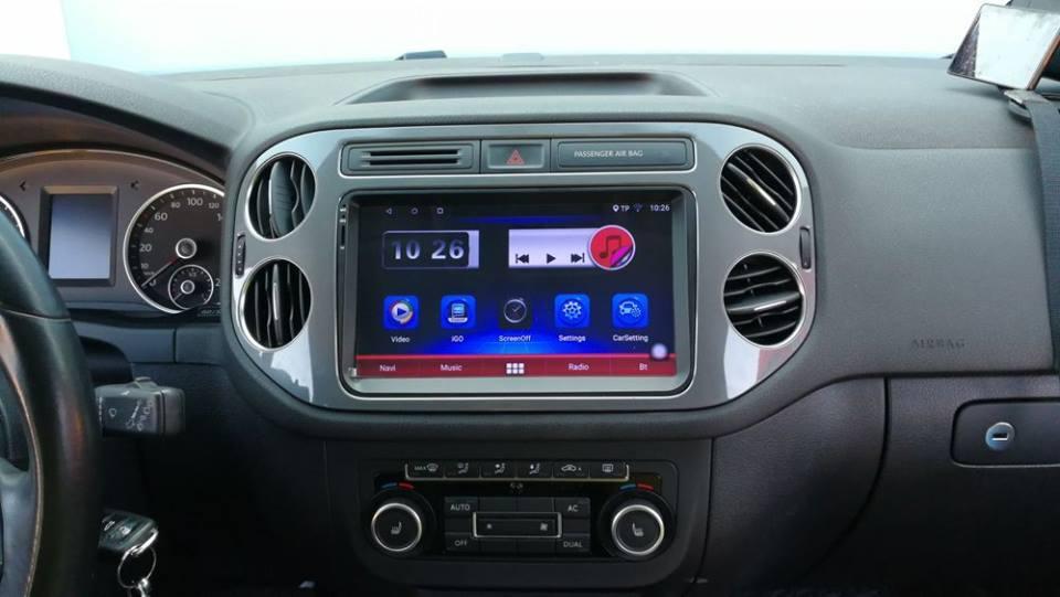 NAVIGATIE CARPAD ANDROID DEDICATA VW Eos EDONAV E305 ECRAN 9'' CAPACITIV 16GB INTERNET 3G
