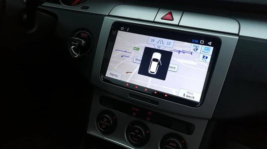 NAVIGATIE CARPAD ANDROID DEDICATA VW Passat B7 NAVD-MT9800 9'' 16GB 2GB RAM GPS WAZE CAMERA BONUS!