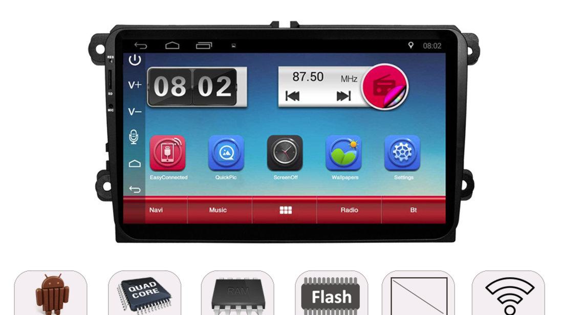 NAVIGATIE CARPAD ANDROID DEDICATA VW Passat CC EDONAV E305 ECRAN 9'' CAPACITIV 16GB INTERNET 3G