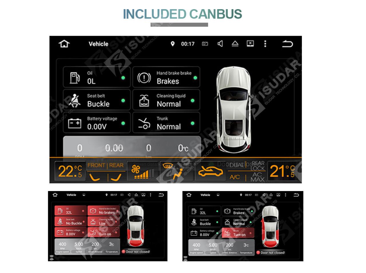 NAVIGATIE CARPAD ANDROID DEDICATA VW Polo(mk5/B5) NAVD-MT9800 9''16GB 2GB RAM GPS WAZE CAMERA BONUS!