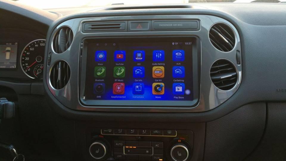 NAVIGATIE CARPAD ANDROID DEDICATA VW Scirocco EDONAV E305 ECRAN 9'' CAPACITIV 16GB INTERNET 3G