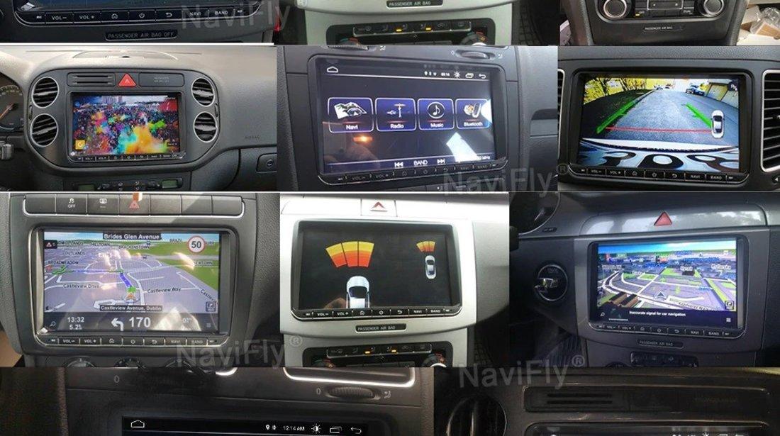 NAVIGATIE CARPAD ANDROID DEDICATA VW SKODA SEAT EDOTEC EDT-E205 ECRAN 9'' CAPACITIV 16GB INTERNET 3G