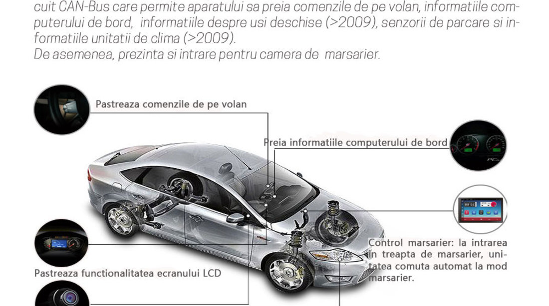 NAVIGATIE CARPAD ANDROID DEDICATA VW Touran  EDONAV E305 ECRAN 9'' CAPACITIV 16GB INTERNET 3G