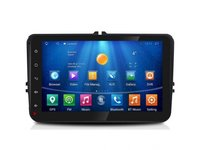 NAVIGATIE CARPAD CMP8001 ANDROID 4.4.4 DEDICATA VW POLO 2009-2015 8'' CAPACITIV 16GB WIFI WAZE