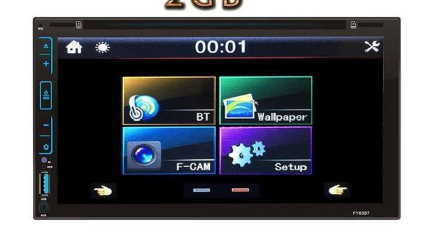 NAVIGATIE CARPAD CU ANDROID DEDICATA VW MULTIVAN 1998-2009 DVD PLAYER AUTO CU USB SD MIRRORLINK