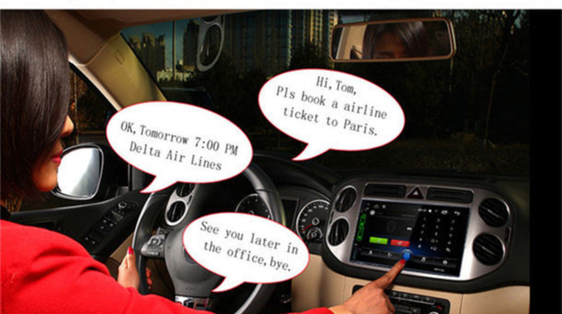 NAVIGATIE CARPAD CU ANDROID DEDICATA VW PASSAT B5 MK5 2000-2005 DVD PLAYER AUTO CU USB SD MIRRORLINK