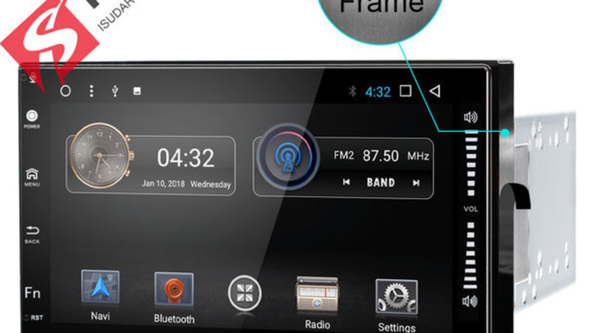 NAVIGATIE CARPAD Dedicata VW GOLF 4 ANDROID 7.1 ECRAN 7'' CAPACITIV USB INTERNET 3G WAZE GPS 2GB
