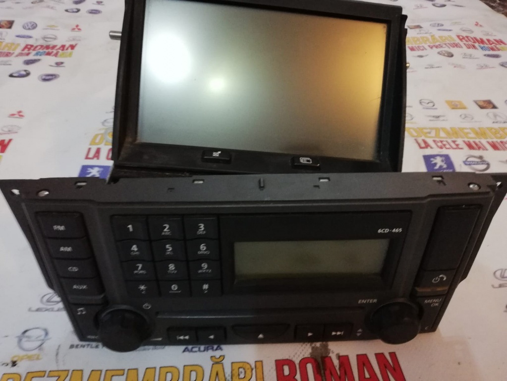 Navigatie completa display consola player Land Rover Discovery 3 range sport gps 4622005409