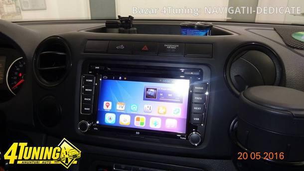 NAVIGATIE CU ANDROID DEDICATA Seat Alhambra EDOTEC EDT-G305 INTERNET 3G WIFI WAZE DVR DVD
