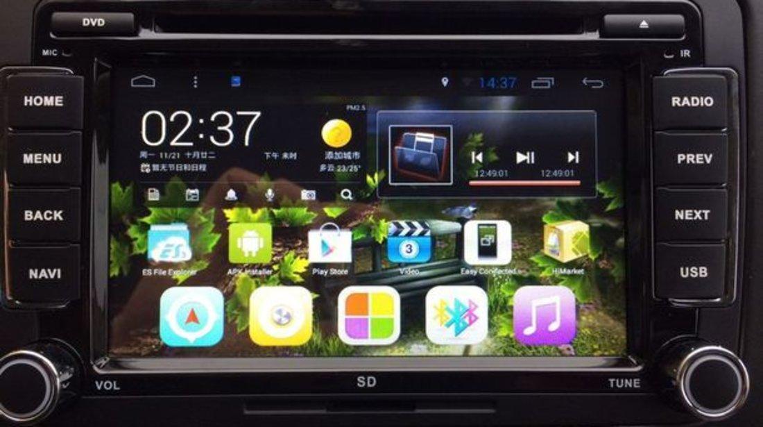 NAVIGATIE CU ANDROID DEDICATA Skoda Superb II EDOTEC EDT-G305 INTERNET 3G WIFI WAZE DVR DVD
