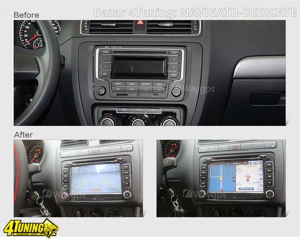 NAVIGATIE CU ANDROID DEDICATA VW Scirocco EDOTEC EDT-G305 INTERNET 3G WIFI WAZE DVR DVD
