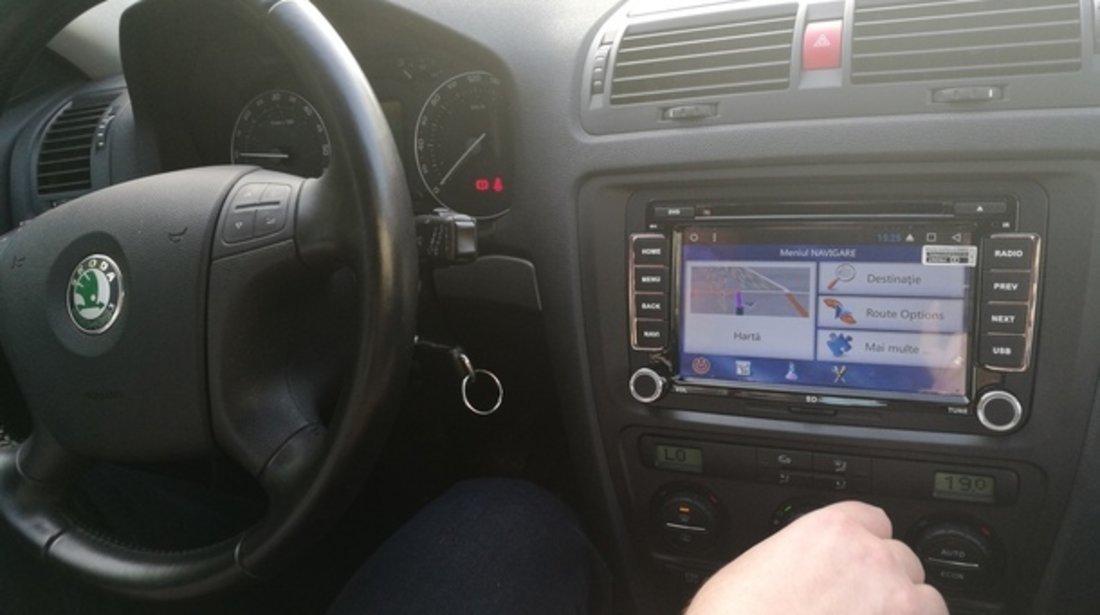 NAVIGATIE CU ANDROID DEDICATA VW Sharan EDOTEC EDT-G305 INTERNET 3G WIFI WAZE DVR DVD