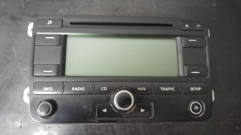 Navigatie cu radio cd player vw passat b6 1k0035191e