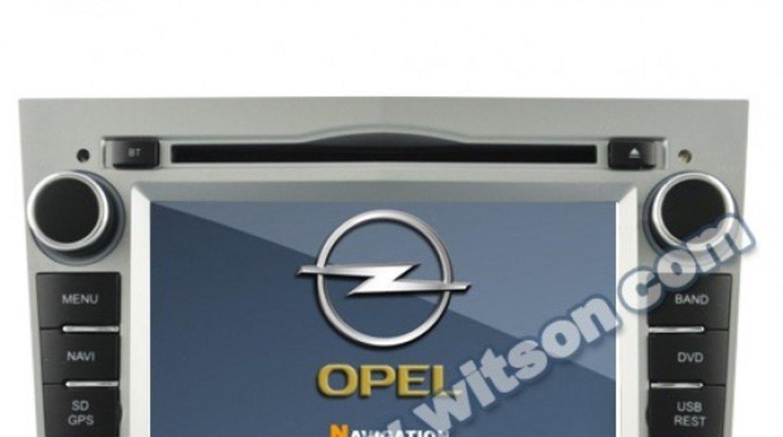 NAVIGATIE DEDICATA ANDROID Opel Astra H WITSON W2-A9828L INTERNET 3G WIFI MIRRORLINK W